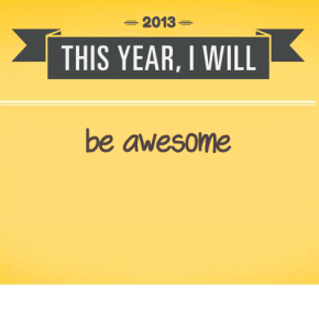 The top 5 Business Resolutions for 2013