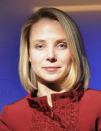 "Marissa Mayer, CEO  of Yahoo. Although International Women's Day is celebrated in several ""3rd world"" countries, it is not an official holiday in the US."